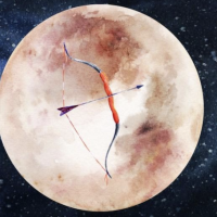 "Jun 17th 2019 - Full Moon in Sagittarius (25˚35"")"